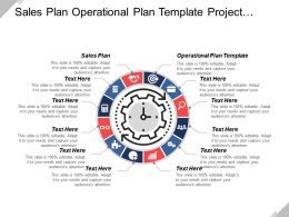 Sales Plan Operational Plan Template Project Business Plan Cpb
