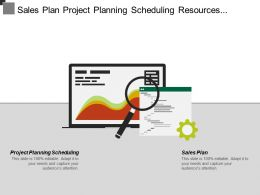 Sales Plan Project Planning Scheduling Resources Planning Materials Management