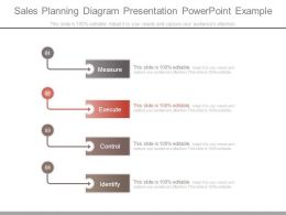 Sales Planning Diagram Presentation Powerpoint Example