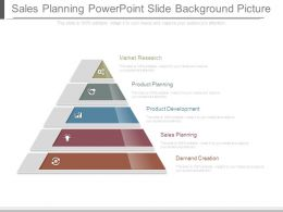 Sales Planning Powerpoint Slide Background Picture