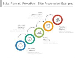 Sales Planning Powerpoint Slide Presentation Examples