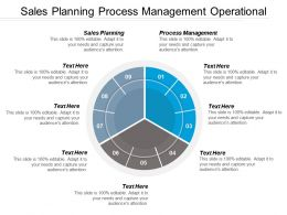 Sales Planning Process Management Operational Risk Management Framework Cpb