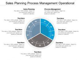 Sales Planning Process Management Operational Risk Management Framework Cpb