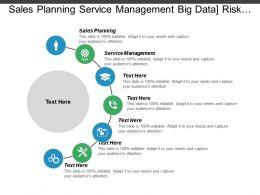 Sales Planning Service Management Big Data Risk Management Cpb