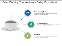 Sales Planning Tool Workplace Safety Promotional Advertising Sales Meeting Agendas