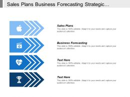 Sales Plans Business Forecasting Strategic Planning Leadership Styles Cpb