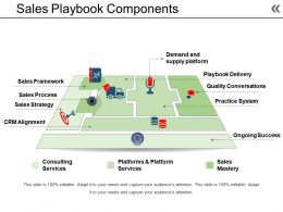 Sales Playbook Components Sample Of Ppt