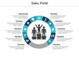 Sales Portal Ppt Powerpoint Presentation Infographics Good Cpb