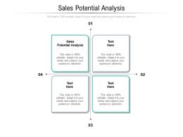 Sales Potential Analysis Ppt Powerpoint Presentation Styles Inspiration Cpb