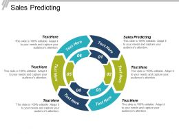 Sales Predicting Ppt Powerpoint Presentation File Example Introduction Cpb
