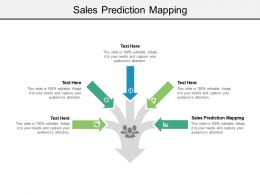 Sales Prediction Mapping Ppt Powerpoint Presentation File Inspiration Cpb