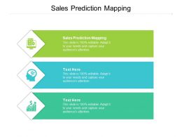 Sales Prediction Mapping Ppt Powerpoint Presentation Infographics Inspiration Cpb