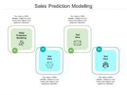 Sales Prediction Modelling Ppt Powerpoint Presentation Mockup Cpb