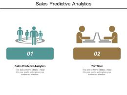 Sales Predictive Analytics Ppt Powerpoint Presentation Pictures Summary Cpb