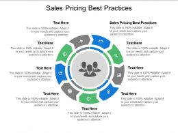 Sales Pricing Best Practices Ppt Powerpoint Presentation Icon Graphics Cpb