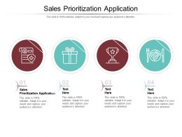 Sales Prioritization Application Ppt Powerpoint Presentation Outline Structure Cpb
