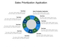 Sales Prioritization Application Ppt Powerpoint Presentation Summary Rules Cpb