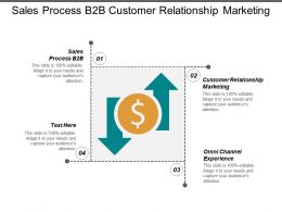 Sales Process B2b Customer Relationship Marketing Omni Channel Experience Cpb