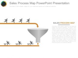 Sales Process Map Powerpoint Presentation