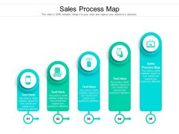 Sales Process Map Ppt Powerpoint Presentation Icon Themes Cpb