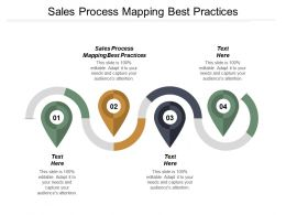 Sales Process Mapping Best Practices Ppt Powerpoint Presentation Infographic Template Images Cpb