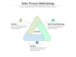 Sales Process Methodology Ppt Powerpoint Presentation Summary Inspiration Cpb