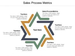 Sales Process Metrics Ppt Powerpoint Presentation Pictures Example Topics Cpb