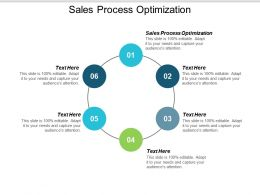 Sales Process Optimization Ppt Powerpoint Presentation Infographic Template Graphics Cpb