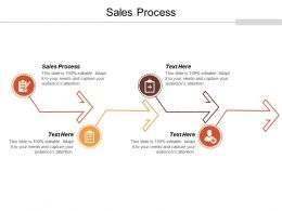 Sales Process Ppt Powerpoint Presentation Infographic Template Graphics Cpb