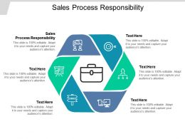 Sales Process Responsibility Ppt Powerpoint Presentation Show Introduction Cpb