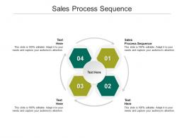 Sales Process Sequence Ppt Powerpoint Presentation Good Cpb