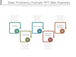Sales Proficiency Example Ppt Slide Examples