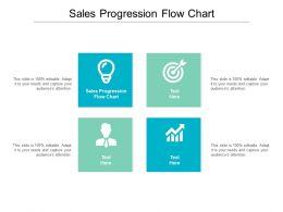 Sales Progression Flow Chart Ppt Powerpoint Presentation Portfolio Graphics Pictures Cpb