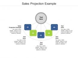 Sales Projection Example Ppt Powerpoint Presentation Slide Cpb