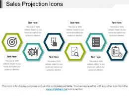Sales Projection Icons