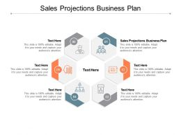 Sales Projections Business Plan Ppt Powerpoint Presentation Icon Example Cpb