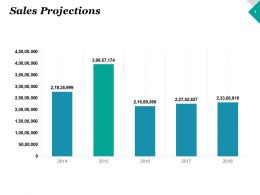 Sales Projections Finance Ppt Inspiration Graphics Example