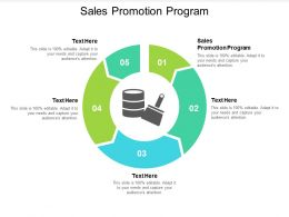 Sales Promotion Program Ppt Powerpoint Presentation Professional Icons Cpb