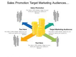 Sales Promotion Target Marketing Audiences Performance Measurement Model Cpb