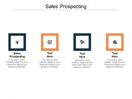 Sales Prospecting Ppt Powerpoint Presentation Show Graphics Cpb