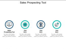 Sales Prospecting Tool Ppt Powerpoint Presentation Styles Aids Cpb
