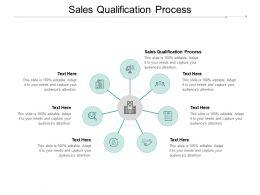 Sales Qualification Process Ppt Powerpoint Presentation Show Portfolio Cpb