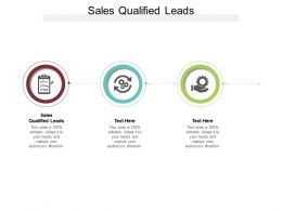Sales Qualified Leads Ppt Powerpoint Presentation Show Outfit Cpb