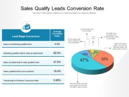 Sales Qualify Leads Conversion Rate