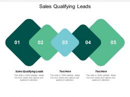 Sales Qualifying Leads Ppt Powerpoint Presentation Infographic Template Layout Ideas Cpb