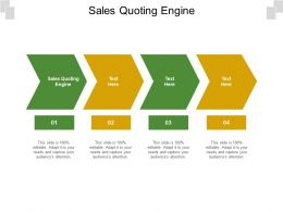 Sales Quoting Engine Ppt Powerpoint Presentation Infographic Template Display Cpb