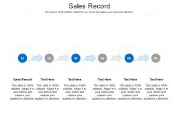 Sales Record Ppt Powerpoint Presentation Professional Ideas Cpb