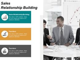 Sales Relationship Building Ppt Powerpoint Presentation Slides Graphics Example Cpb