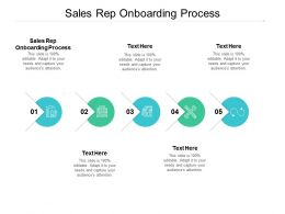 Sales Rep Onboarding Process Ppt Powerpoint Presentation Slides Inspiration Cpb