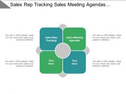 Sales Rep Tracking Sales Meeting Agendas Professional Resumes Cpb